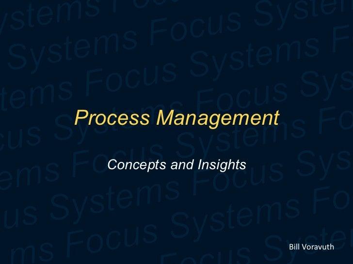 TQA Cat 6 Process Management