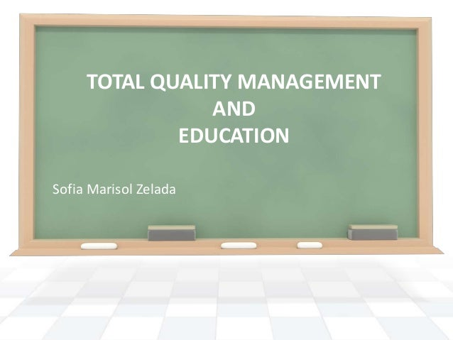information management quality thesis total Abstract total quality is becoming increasingly important for competitiveness in this ever-changing world the total quality management (tqm.