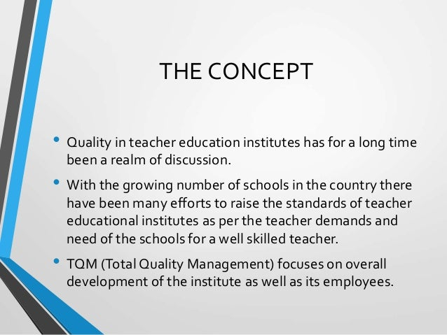 What is teacher education?