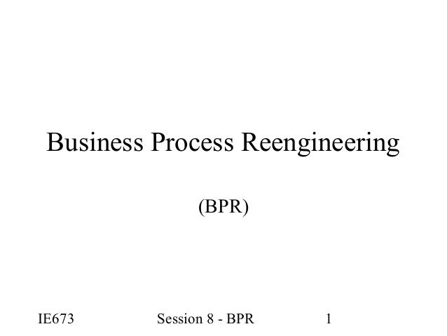tqm and business process re engineering Topic difference between bpr and six sigma on this moment i'm trying to complete my thesis about what the diferrences are between business process reengineering and six sigma in the way which they coordinate changes in organisations it lists the differences between ss and tqm, lean, etc.