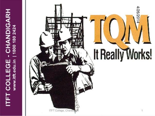 ITFT-Tqm tool kit