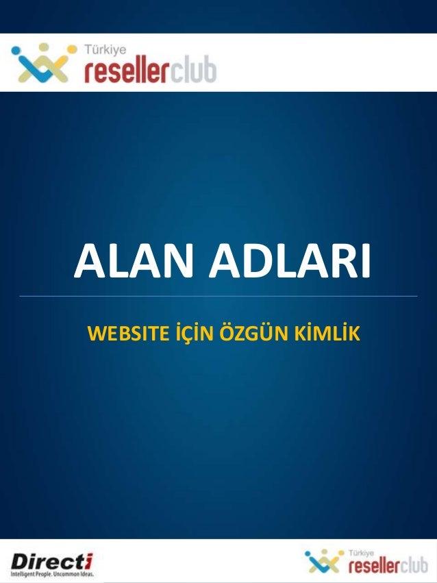 TR - Affiliate Program - Alan Adları