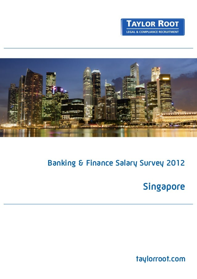 Singapore - Banking & Financial Services Salary Survey 2012