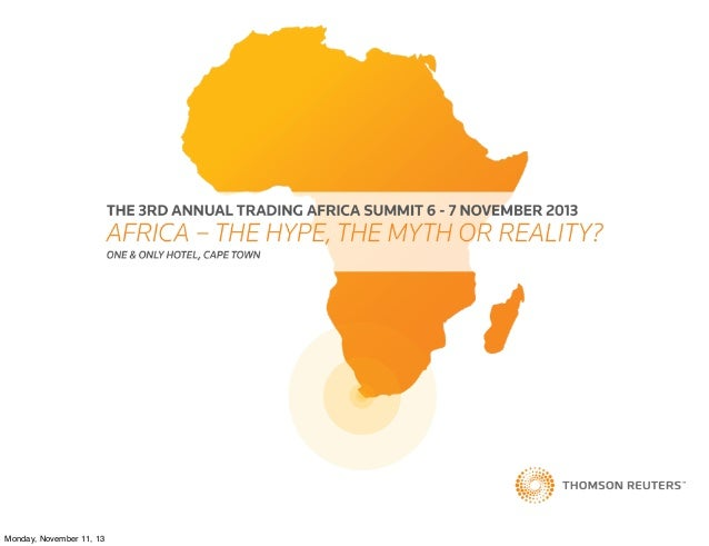 ESG in Africa Investment: Too Little or Too Late? Graham Sinclair