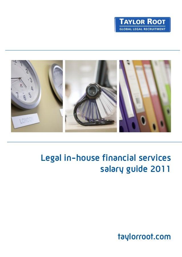 UK - Banking & Financial Services Salary Survey 2011
