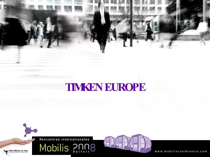 TIMKEN EUROPE