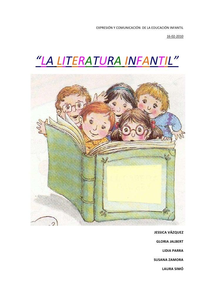 Trab.la  literatura infantil en los niños y niñas