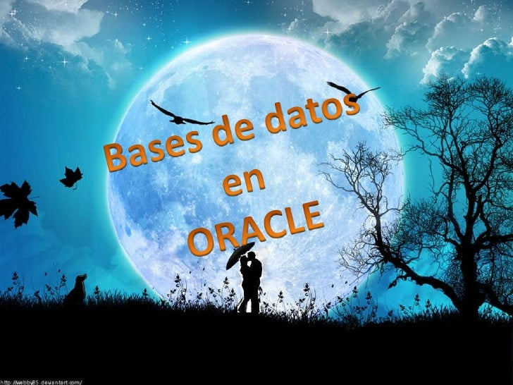 Bases de datos en<br />ORACLE<br />