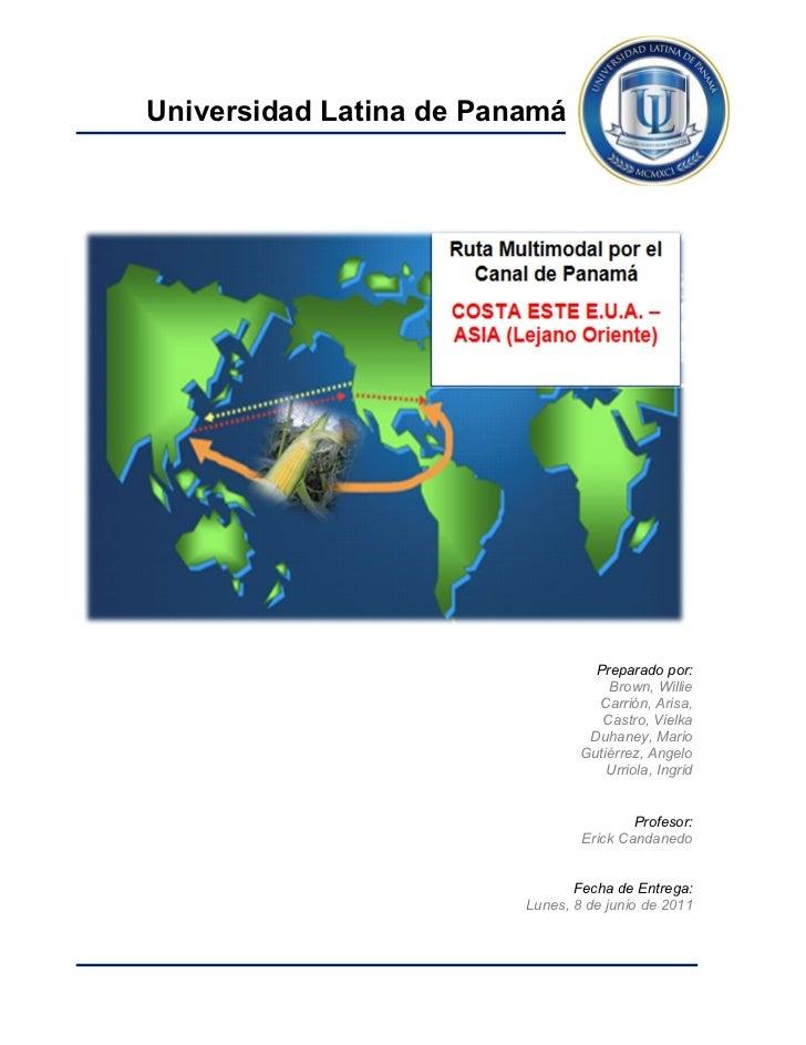 Universidad Latina de Panamá                                   Preparado por:                                     Brown, W...
