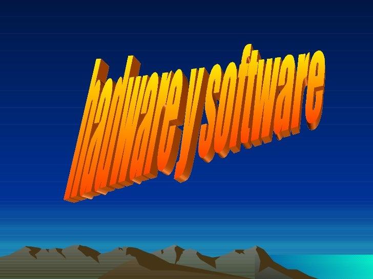 hadware y software