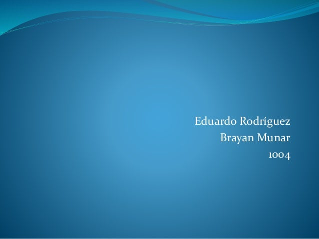 Eduardo Rodríguez Brayan Munar 1004