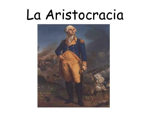 La Aristocracia