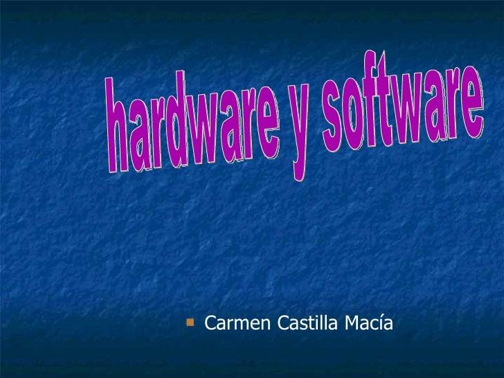 Trabajo Hardware Y Software