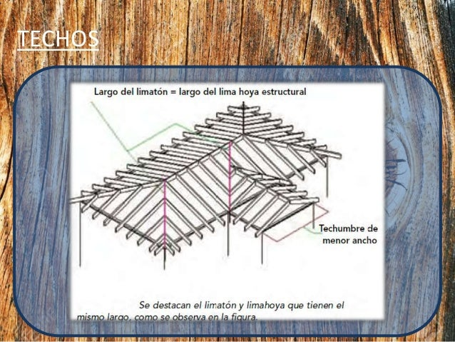 Estructura de madera y dise o arquitectonico - Estructuras de madera para techos ...
