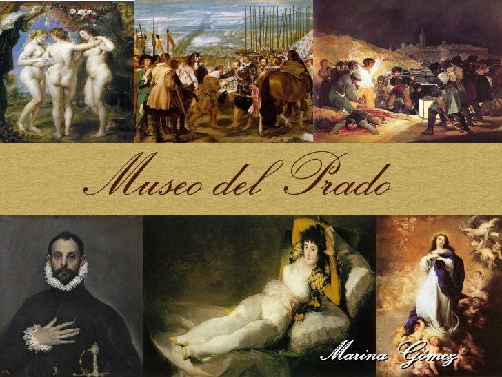 Museo del Prado           Marina Gómez