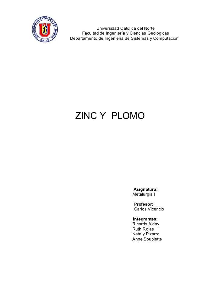 Universidad Católica del Norte      Facultad de Ingeniería y Ciencias Geológicas Departamento de Ingeniería de Sistemas y ...