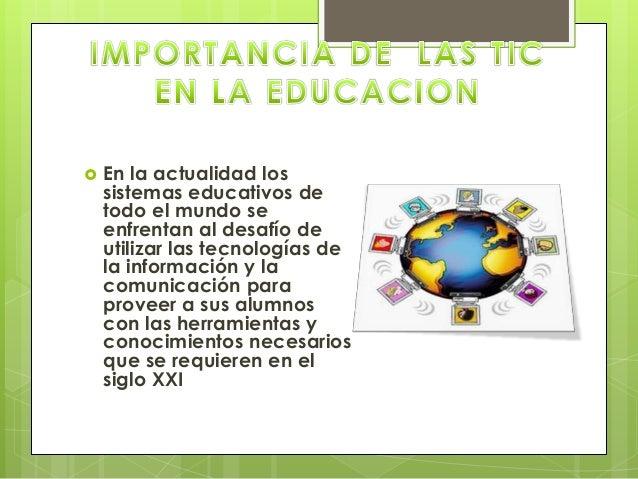   En la actualidad los sistemas educativos de todo el mundo se enfrentan al desafío de utilizar las tecnologías de la inf...