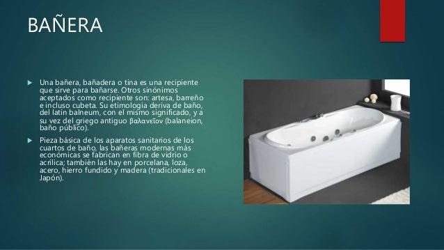 Baño De Tina O Artesa:lado 15 altura de salida de lavadero 1 00 m