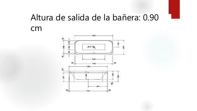 Baño De Tina O Artesa:altura de salida de la bañera 0 90 cm 18