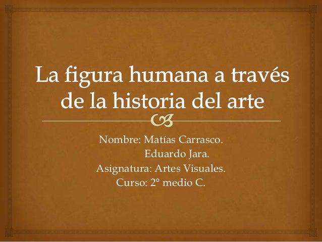 Nombre: Matías Carrasco.Eduardo Jara.Asignatura: Artes Visuales.Curso: 2° medio C.