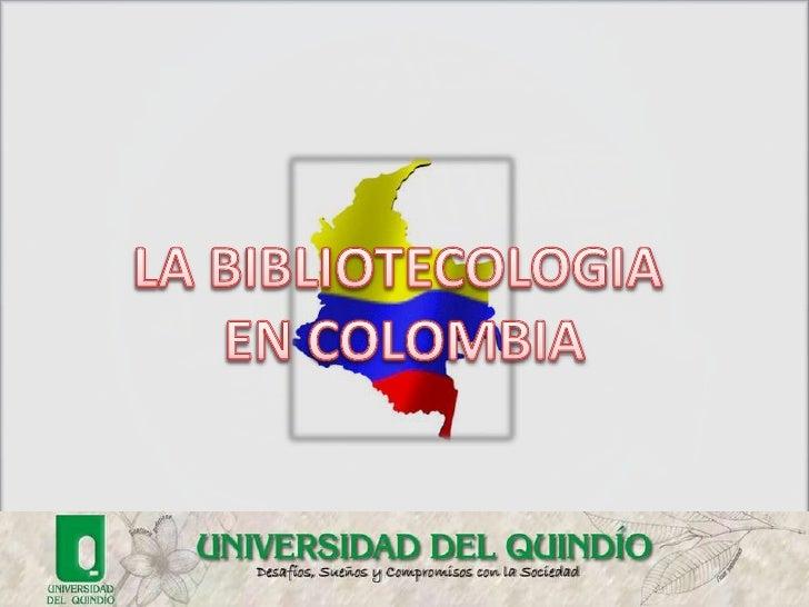 Trabajo bibliotecologia en colombia
