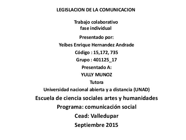 legislacion de trabajo: