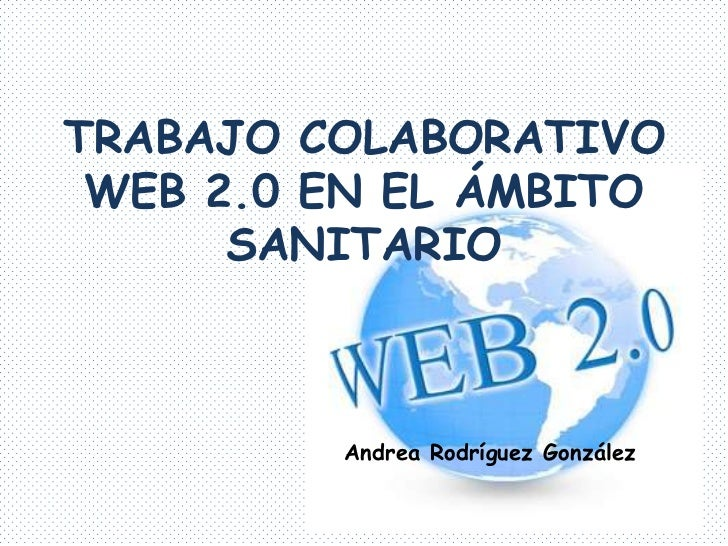 Trabajo colaborativo web 2
