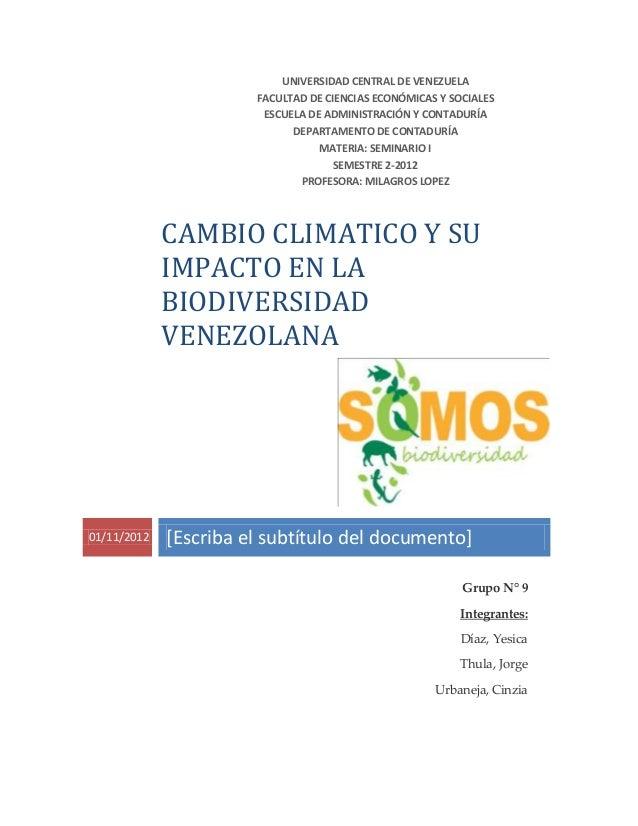 Trabajo de cambio climático equipo 9