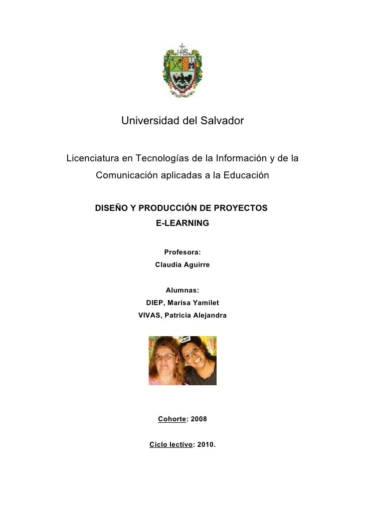 Proyecto e-learning