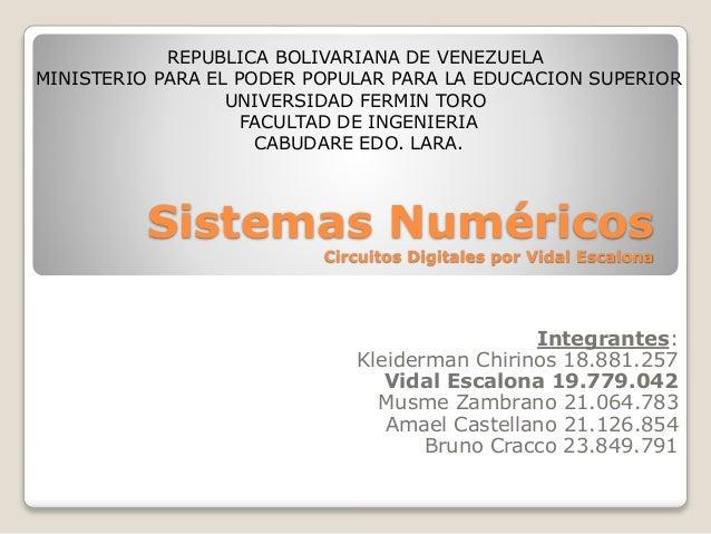 REPUBLICA BOLIVARIANA DE VENEZUELA MINISTERIO PARA EL PODER POPULAR PARA LA EDUCACION SUPERIOR UNIVERSIDAD FERMIN TORO FAC...