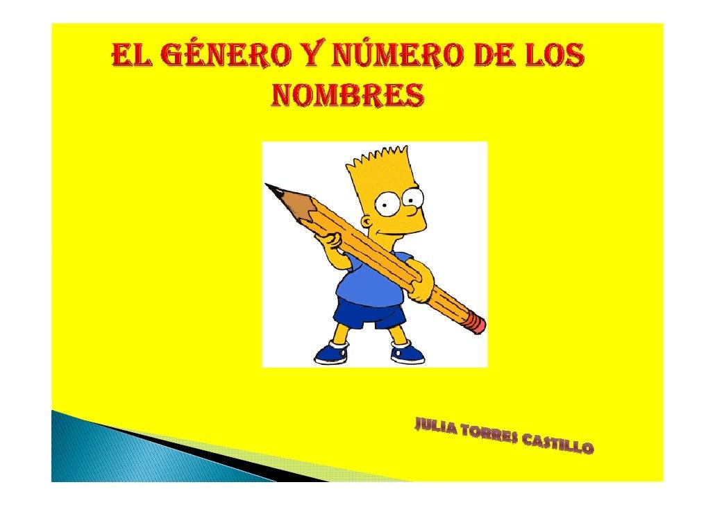 genero numero: