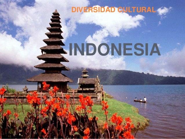 INDONESIA DIVERSIDAD CULTURAL