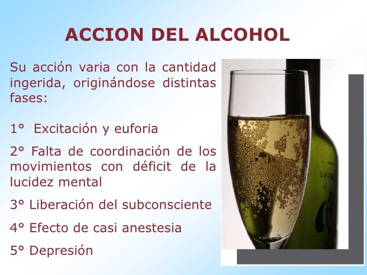El test sobre la disposición al alcoholismo