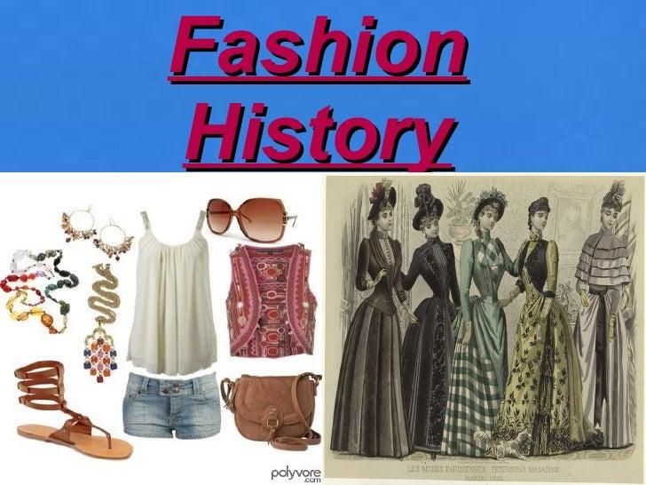 FashionHistory