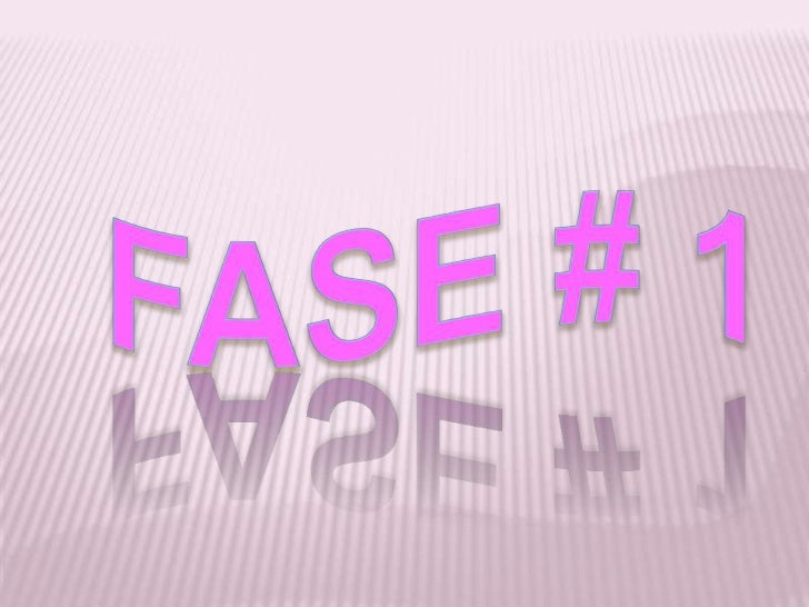 FASE # 1<br />