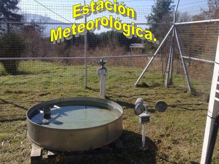 Visita a la estación del Parque del                  SalaoEl 3 de marzo visitamos una estacion meteorológica,  asesorados ...