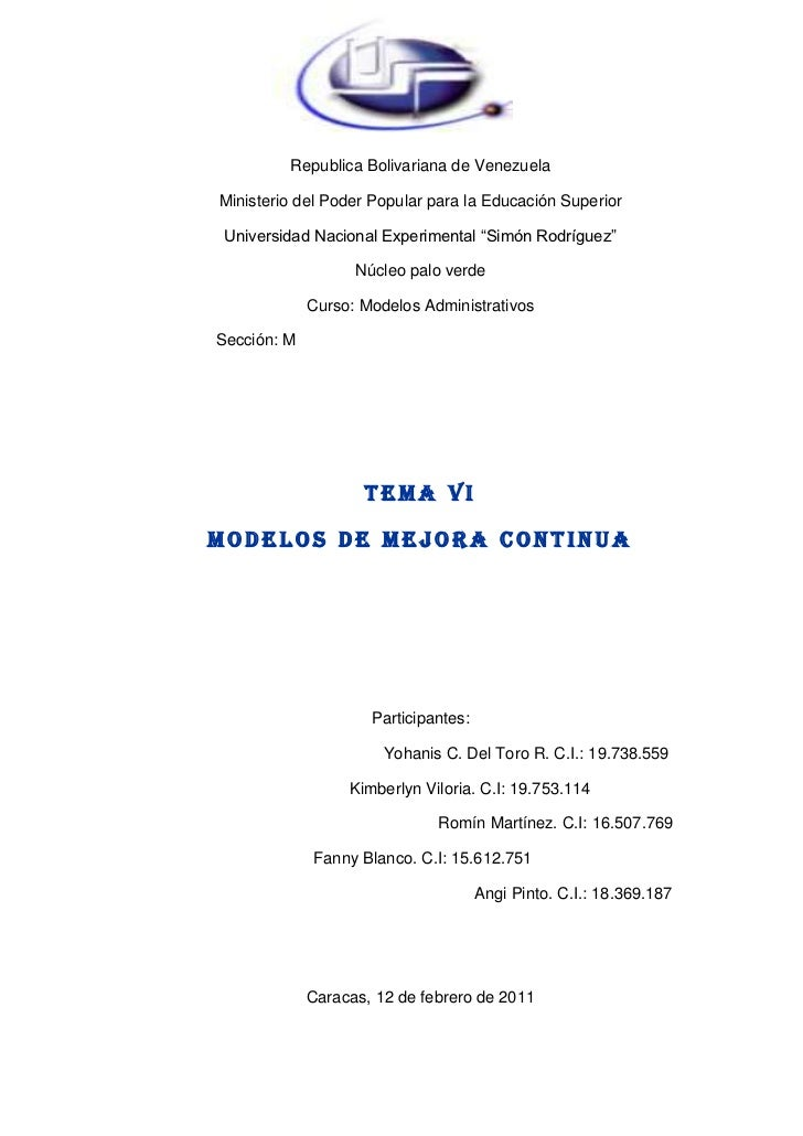 Trabajo de modelos administrativos tema 4