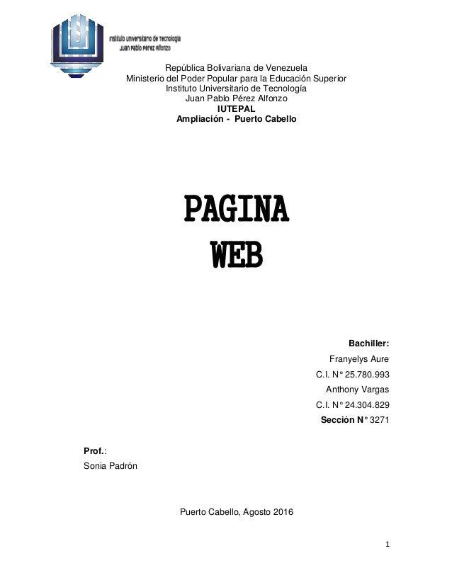Trabajo de pagina web for Pagina web ministerio interior
