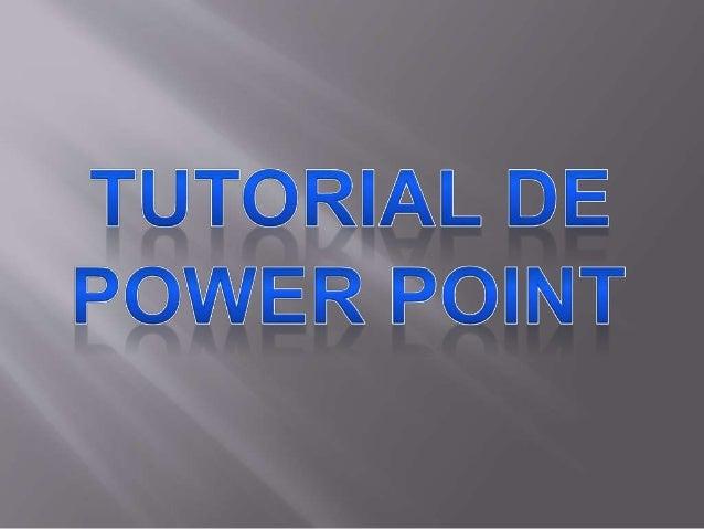 Microsoft PowerPoint es un  programa de presentación  desarrollado por la empresa  Microsoft para sistemas  operativos Mic...