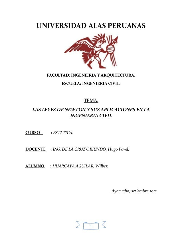 UNIVERSIDAD ALAS PERUANAS FACULTAD: INGENIERIA Y ARQUITECTURA. ESCUELA