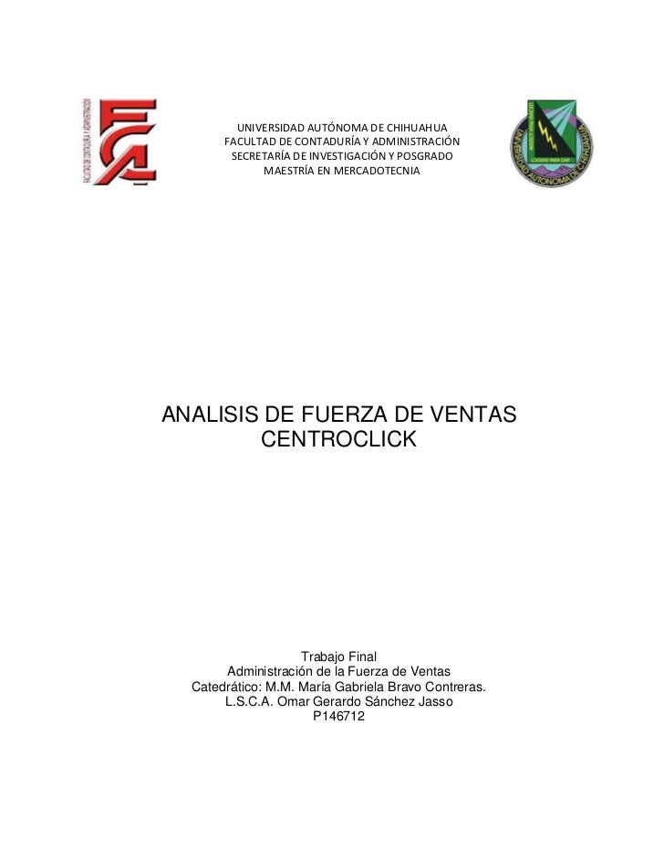 Análisis de la Administración de la Fuerza de Ventas