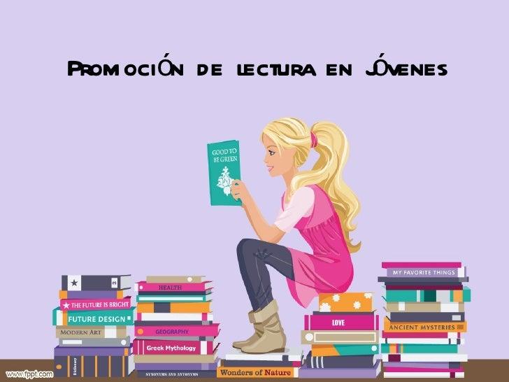 Promocion de lectura