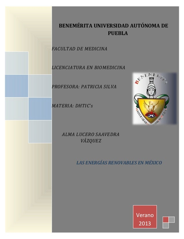 Verano 2013 FACULTAD DE MEDICINA LICENCIATURA EN BIOMEDICINA PROFESORA: PATRICIA SILVA MATERIA: DHTIC's ALMA LUCERO SAAVED...