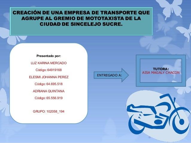 Presentado por:LUZ KARINA MERCADO   Código: 64919168                         TUTORA:                                      ...