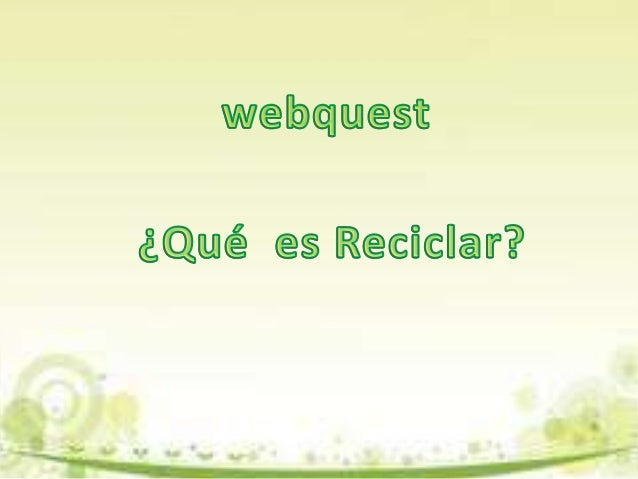 IntroducciónUna de las más famosas ORG. como Greenpeace Argentinaestá pidiendo tu ayuda para armar una campaña de reciclaj...