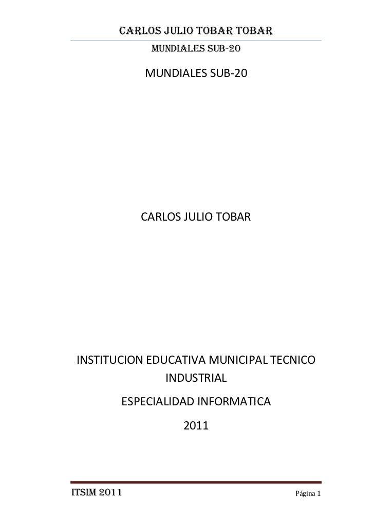 Trabajo final pdf carlos tobar