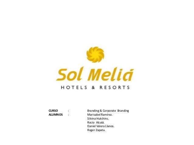 CURSO ALUMNOS  : :  Branding & Corporate Branding Marisabel Ramírez. Silvina Hutchins. Rocío Alcalá. Daniel Valera Llanos....