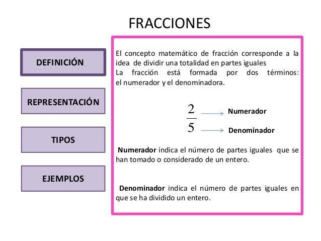 Trabajo fracciones for Definicion de gastronomia