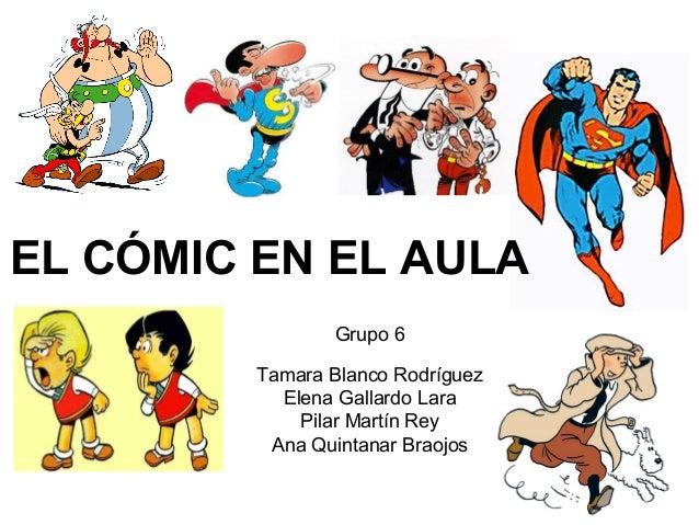Trabajo grupal. el cómic