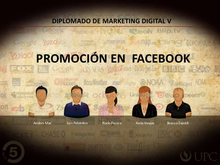 DIPLOMADO DE MARKETING DIGITAL VPROMOCIÓN EN FACEBOOK
